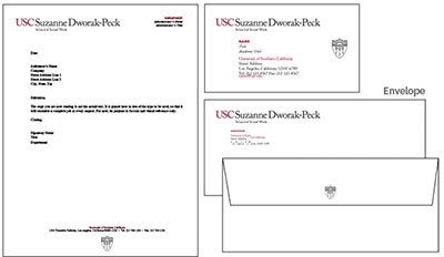 school letterhead example