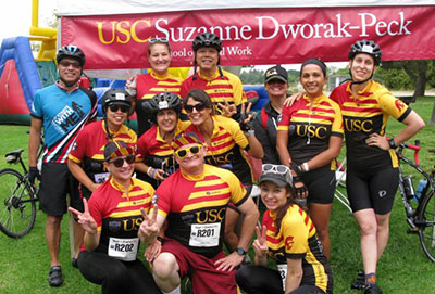 2017 Tour de Cure school team
