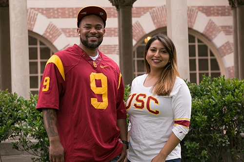 Two USC Students