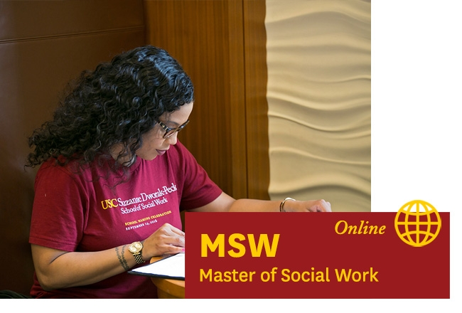 USC student study -  - Learn about our Online MSW Master of Social Work program