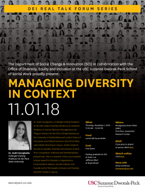 Managing Diversity in Context