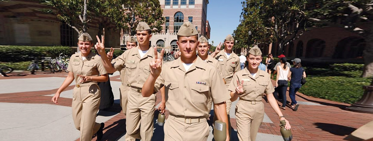 USC military students